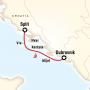 Croatia Sailing Dubrovnik to Split